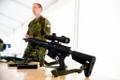 Defense Forces unveil new Rahe 20 automatic weapon.