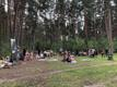 Protest at Paralepa Forest Park, near Haapsalu.