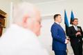 Главы правительства Эстонии в Доме Стенбока.