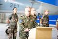 Germany takes over NATO Baltic Air Policing duties at Ämari Air Base.