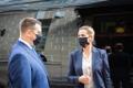 Визит премьер-министра Дании Метте Фредериксен в Эстонию.