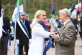 Vastupanuvõitluse päeva tähistamine Talinnas: Riina Solman ja Trivimi Velliste