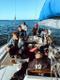 Purjejaht Vestaga merel