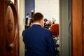 Jüri Ratas ja Mailis Reps teel ajakirjanike ette