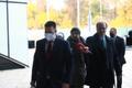 Peaminister Jüri Ratas teel valitsuse pressikonverentsile