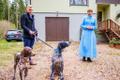 President Kersti Kaljulaid käis õnnitlemas aasta isa Arvo Tuvikest