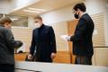 Peeter Helme in court on November 30, 2020.