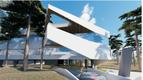 Pirita randa Merivälja tee 1 ehitatava hoone eskiisjoonis.