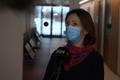 Kohtla-Järvel oli esimest vaktsineerimist tunnistamas ka sotsiaalministeeriumi asekantsler Maris Jesse