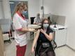 Vaktsiin jõudis Kohtla-Järvele. Demonstratsioonesinemine ajakirjanikele.