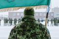 Торжественная церемония освящения флага состоялась в Тапаском военном городке.