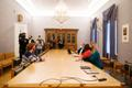 Coalition negotiations between Reform and Center continued on Monday, January 18.
