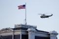 President Donald Trump lahkumas koos abikaasa Melaniaga helikopteriga Valgest Majast.