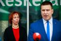 Keskerakond tutvustas uusi ministreid
