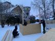 Памятник Яаку Йоале  скрыли от глаз жителей и гостей города.