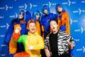 Eesti Laulu II poolfinaali esinejad Eesti Laulu seina ääres