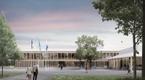 Конкурс на архитектурное решение для государственного и судебного здания в Кярдла. Эскиз Kannel.