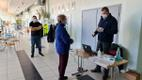 Police and rescue workers were vaccinated on the island of Saaremaa on March 4.