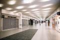 The empty halls of the Rocca al Mare shopping center in Tallinn.
