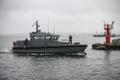 Mereväe uued väekaitsekaatrid EML Risto ja EML Roland saabusid Miinisadamasse.