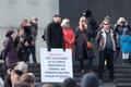 Varro Vooglaid piirangutevastasel meeleavaldusel tänavu kevadel.