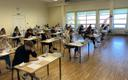 Estonian national exams in Türi High School.