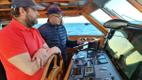 Парусник Admiral Bellingshausen готовится к арктической экспедиции.