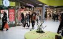 Shoppers in Ülemiste keskus.