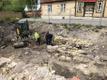 Archaeological dig in Haapsalu.