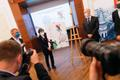 Tokyo OM hõbemündi ja postmargi esitlus