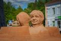 Парк песчаных скульптур в Тырва.