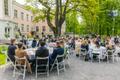 President Kersti Kaljulaid ja õiguskantsler Ülle Madise tunnustasid roosiaias