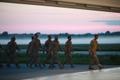 EDF members arriving in Ämari after serving in Afghanistan.