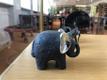Andi Veskioja erakogust pärit elevandikujud.