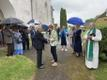 Богослужение в память о жертвах депортации в церкви Виру-Яагупи.
