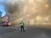 Suur põleng Viljandi kesklinnas.