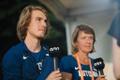 Martin Täht ja treener Liivi Eerik