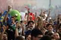 Itaalia jalgpallikoondise Euroopa meistritiitel tõi sealsed inimesed tänavatele tähistama