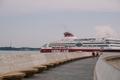 Cruise terminal opening in Tallinn.