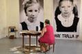Mare Tralla avas Pärnu kunstinädala avasündmusena näituse traumast.
