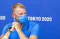 Kaspar Taimsoo Tokyo OM-i pressikonverentsil