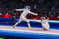 Олимпиада в Токио: индивидуальный турнир по фехтованию на шпагах среди женщин.