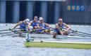 Эстонская четверка парная (Каспар Таймсоо, Тыну Эндрексон, Аллар Рая и Юри-Микк Удам).