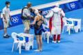 Eneli Jefimova 100 m rinnuliujumise poolfinaalis
