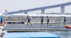 Соревнования по академической гребле на Олимпиаде в Токио.