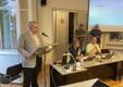 Narva linnavolikogu istung, linnapea kandidaat Ants Liimets.