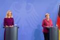 Kaja Kallas kohtus Angela Merkeliga.