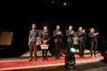 Открытие Театрального фестиваля Свободы в Нарве.