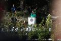 Kersti Kaljulaid roosiaias kõnet pidamas