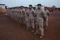 Malis teenivad Eesti sõdurid korralasid Eesti taasiseseisvumise 30. aastapäeva puhul teatemaratoni